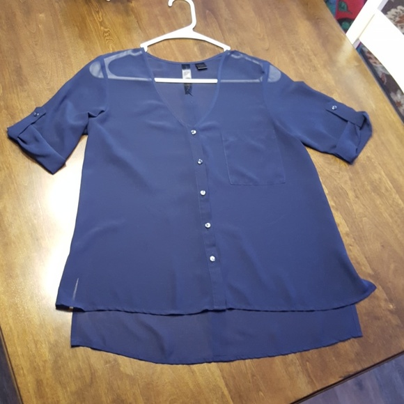 Micaat Alley Sheer Blouse - Size XS